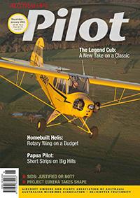 Legend Cub - Wings Out West - Australian Pilot