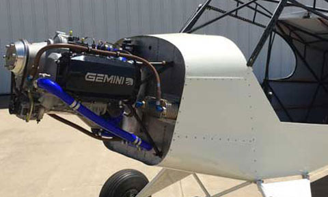 Legend Cub - Gemini Diesel 100 Engine