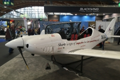 "Blackwing Sweden Shark… ""a type of airplane that flies safe and efficient"""