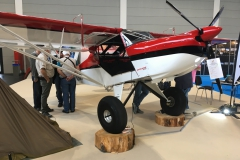 Explorer UL-600, a side-by-side Cub offered by Kitplanes for Africa