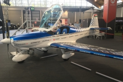 Designed for the U.S. LSA market, the Fusion 212 is also for aerobatics