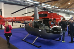 Aero does helos too with the Robinson R44 and Aerospatiale AS332L Super Puma