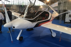 Risen Race Turbo V-tail, retractable from Porto Aviation Group of Italy