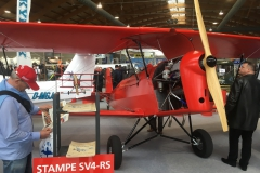 Stampe SV4-RS with a compact 90 HP D-Motor