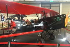 Stampe SV4-RS red wing, black fuselage with Rotax engine