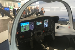 Tecnam P2002JF MkII trainer with IFR glass panel
