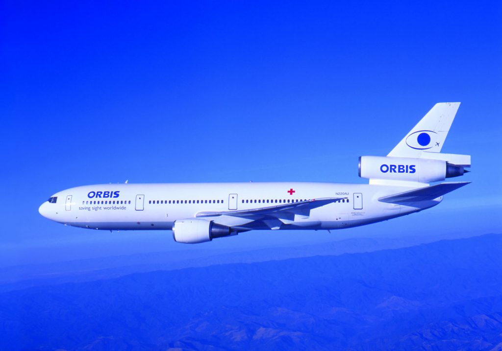 Orbis DC-10 Flying Eye Hospital