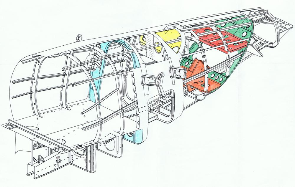 SJ30-2 Jet Structural Design