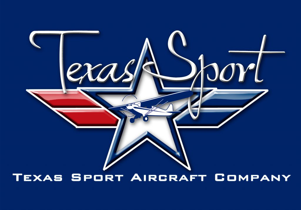 Texas Sport Aircraft Company 3D Logo