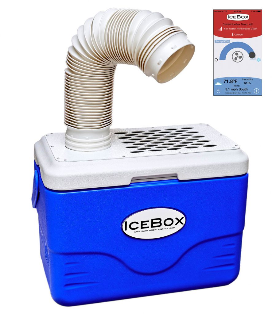IceBox with IceBox Control app
