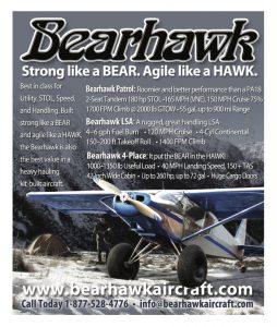 Bearhawk Print Ad