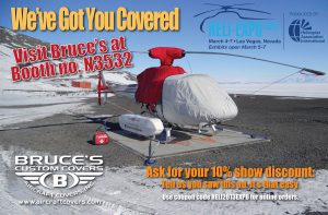 Bruces Custom Covers Heli-Expo