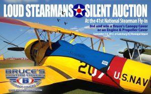 Stearman Silent Auction
