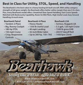 Bearhawk Aircraft - Best in Class for Utility, STOL, Speed, and Handling