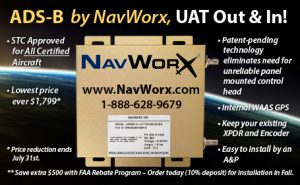 ADS-B by NavWorx, UAT Out & In!