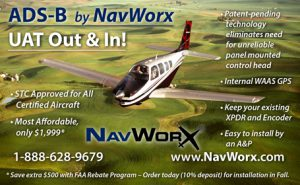 NavWorx: STC Approved for All Certified Aircraft and Most Affordable.