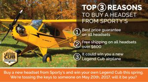 Fly A Legend Cub - Win A Legend Cub