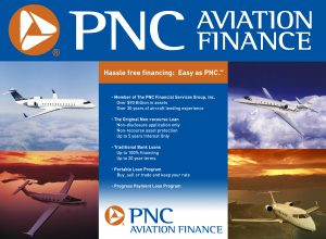 PNC Aviation Finance Booth Graphics