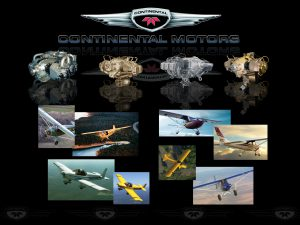Continental Motors Trade Show Display / Booth Graphic