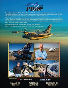 Pilots Review Of Proficiency Event Poster 2016