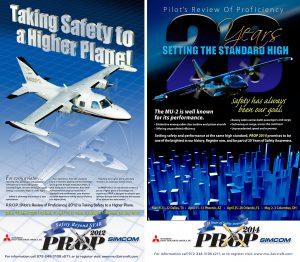 Pilots Review Of Proficiency Event Posters