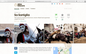 Sartiglia on AtlasObscura