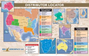 Ibis Distributor Map