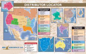 Ibis Distributor Map