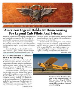 Legend Liaison Company Newsletter