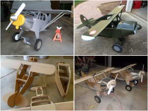 Pedal Plane Cubs built by Mike Taylor