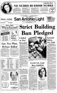 San Antonio Light Newspaper, June 10, 1977.