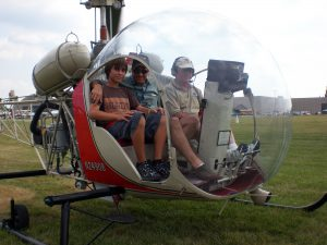 AirVenture Bell 47 Helicopter Ride