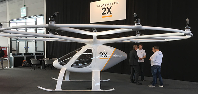 Volocopter from e-volo
