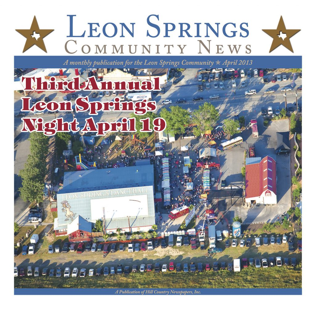 Leon Springs Community News April 2013