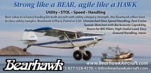Bearhawk Aircraft: Strong like a BEAR, agile like a HAWK. -STOL Magazine