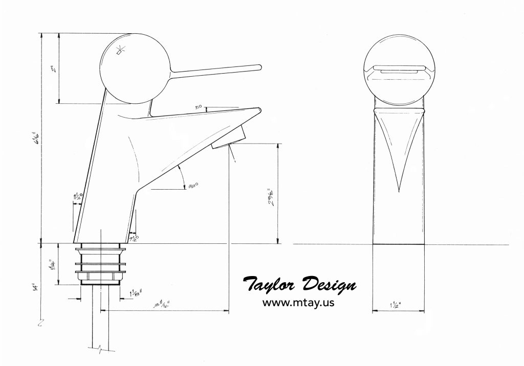 Faucet Design Study by Mike Taylor