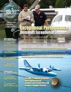 Exceptional Performance - MU-2 Print Ad