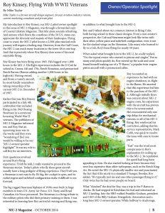 MU-2 Magazine October 2014 Roy Kinsey