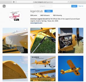 Follow @legendcub on Instagram