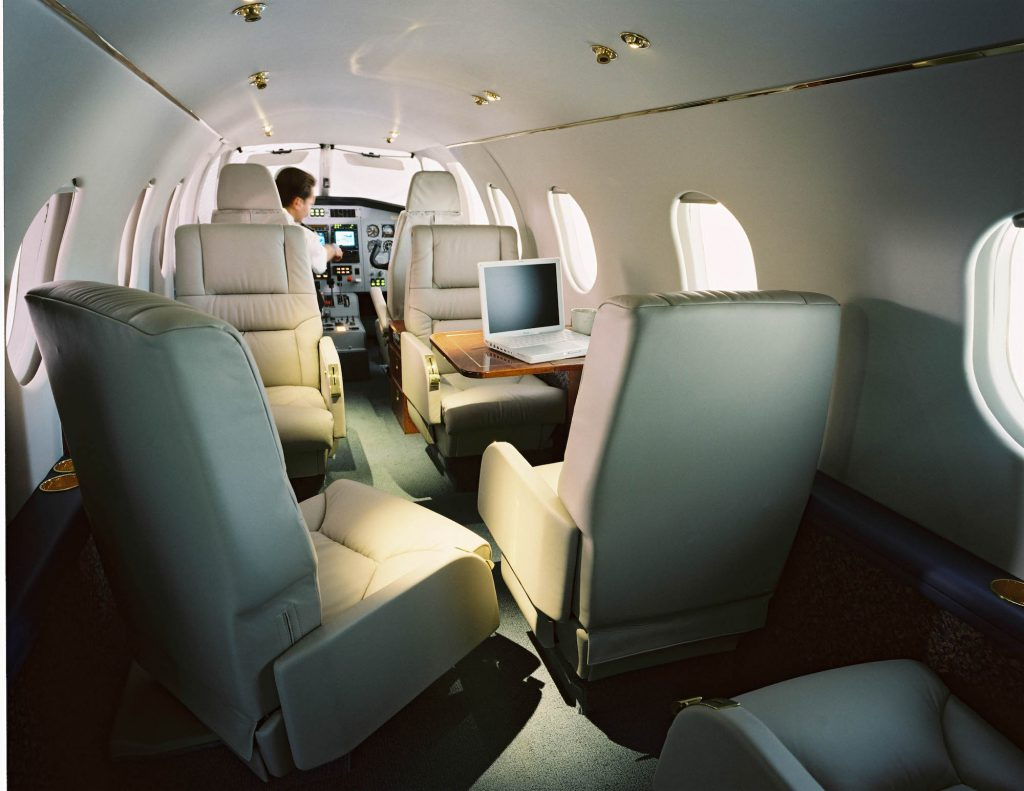 Ae270 Propjet Cabin, Club Seating