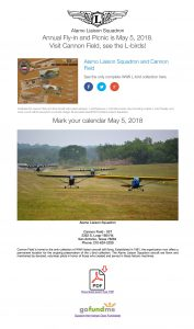 Annual Fly-in Cannon Field, see the L‑birds!