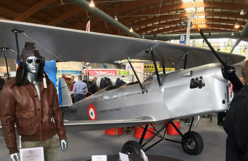Stampe SV4-RS by Ultralight Concept of Belgium.