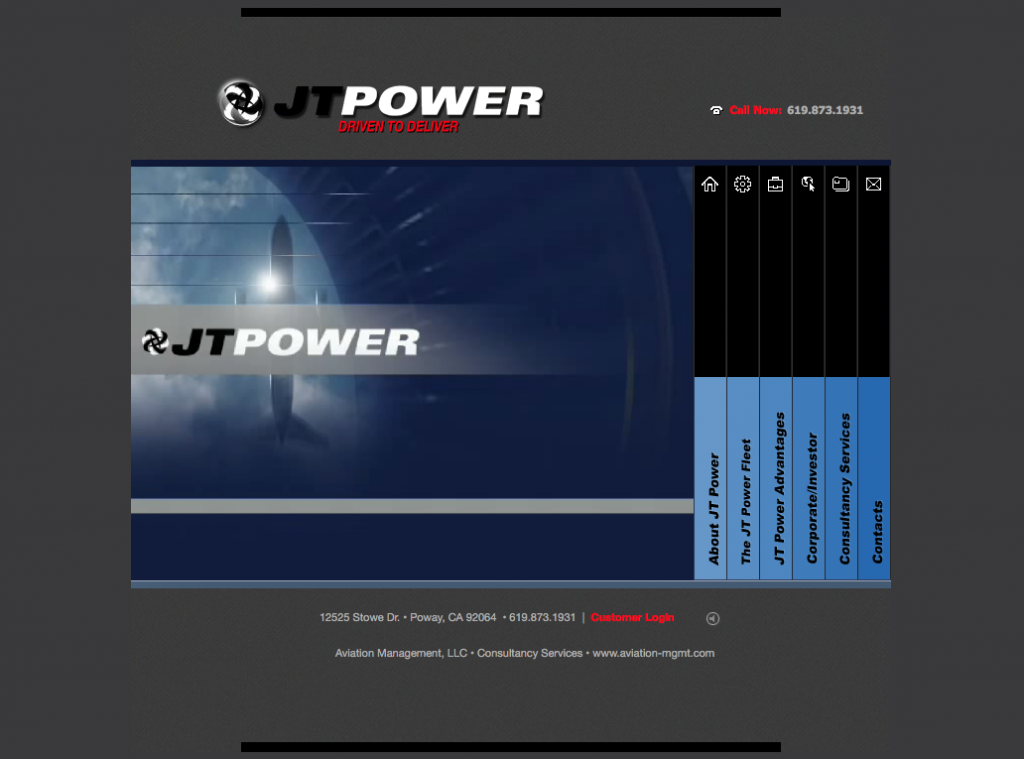 Website Design for JT Power