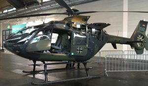 German military helicopter