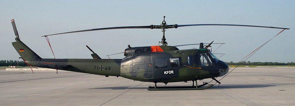 UH-1 D German Registered 71+46