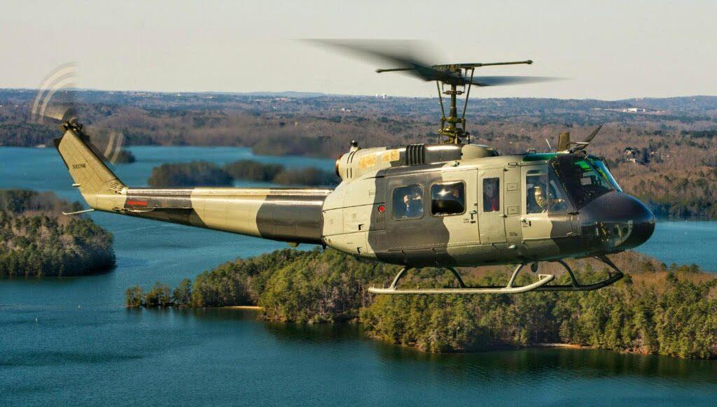 UH-1 D U.S. Registered N8379R