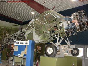 On June 10, 2010, uncovered and with wings removed at Alaskan Aviation Heritage Museum.