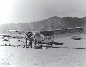 Stinson O-49 / L-1 at Bellows Field, Hawaii, 1941