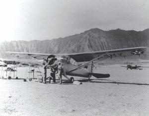 Stinson O-49 / L-1 at Bellows Field, Hawaii, 1941