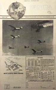 Second September 1984 edition of Trade-A-Plane shows the L-1 in formation flight among seven aircraft of ALG.